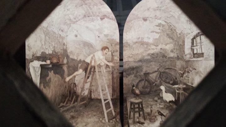 L'angelo coi baffi, conservato nel Museo più piccolo del mondo a Pennabilli
