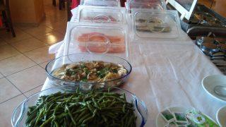 Il buffet del ristorante Il portichetto di L'Aquila