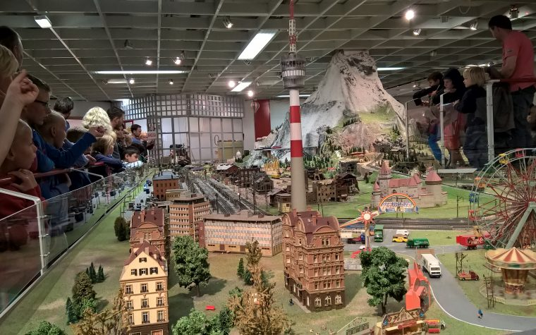 L'Erlebniswelt Eisenbahn di Spittal an der Drau