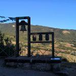La campana tibetana sulla sommità di Pennabilli