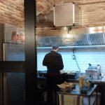 Cucina a vista alla Centrale Trivigliana