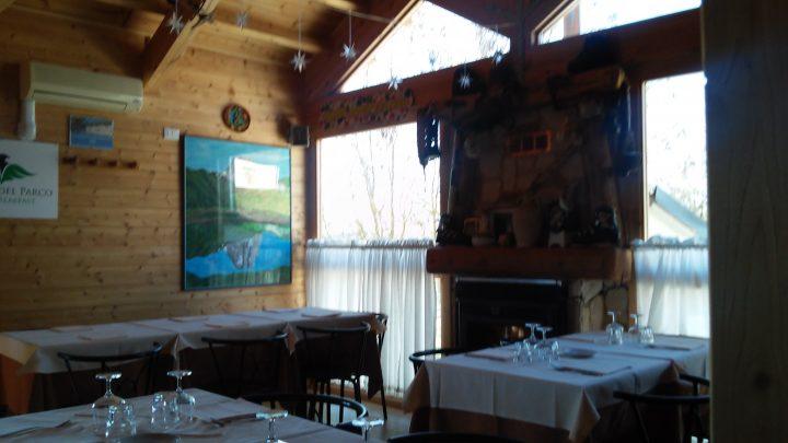 La sala del ristorante La Botte di L'Aquila