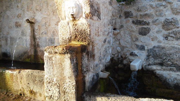 La fontana di Frattura Vecchia