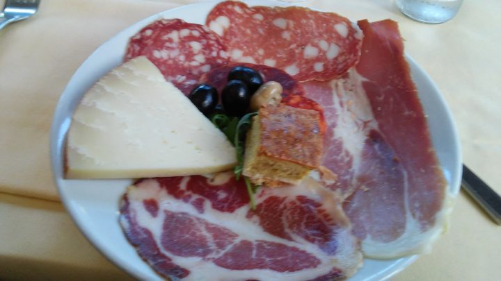 L'antipasto all'italiana