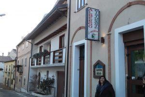 Il ristorante Il Cacciatore a Ovindoli (AQ)