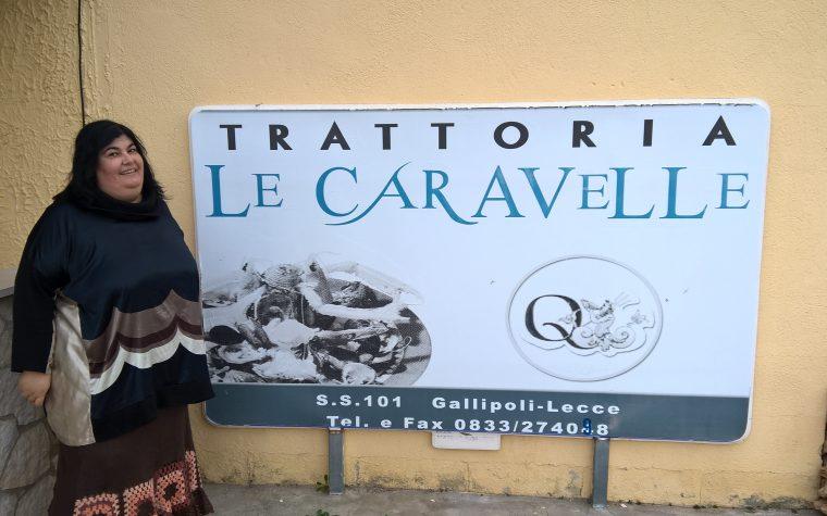 ll ristorante Le Caravelle a Gallipoli