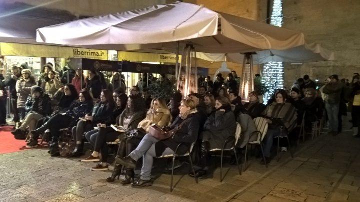 Ascoltando Donato Carrisi alla libreria Liberrima.it di Lecce