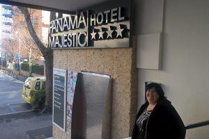 L'hotel Panama Majestic di Rimini