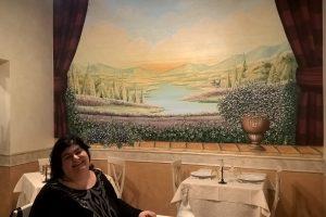 Il ristorante Podere Marcantò di Mosciano Sant'Angelo (TE)