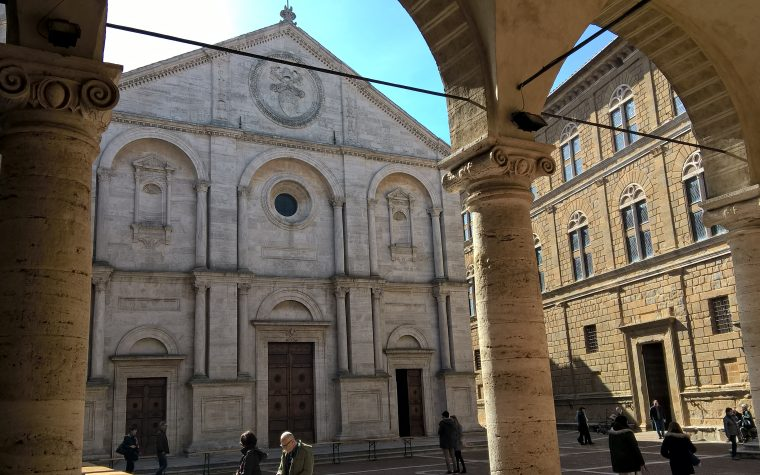 Pienza, la città perfetta, e la Pieve di Corsignano (SI)