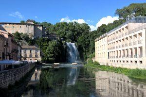 La cascata di Isola del Liri (FR)