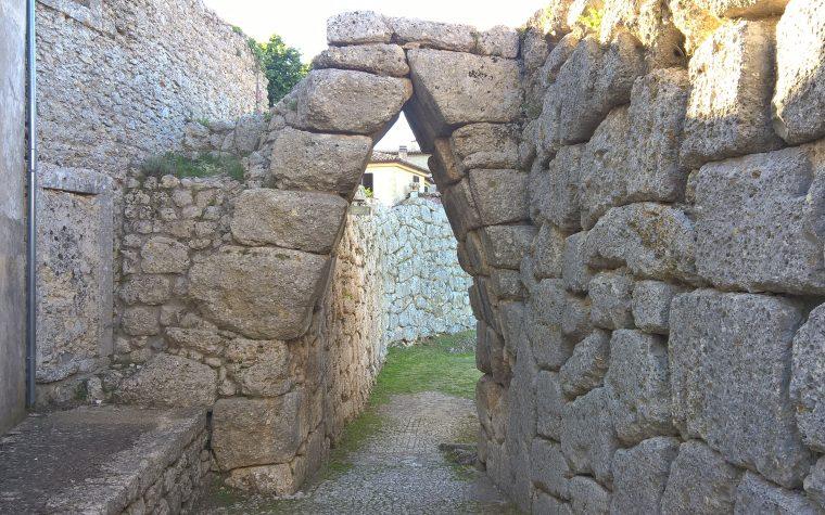 Civitavecchia di Arpino (FR): l'acropoli