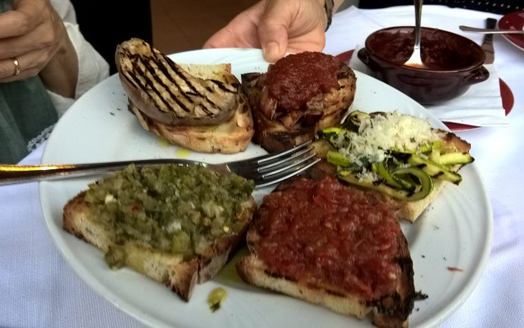 Il ristorante Il Maggese a Teramo