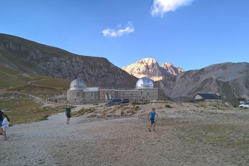 L'Osservatorio Astronomico del Gran Sasso (AQ)