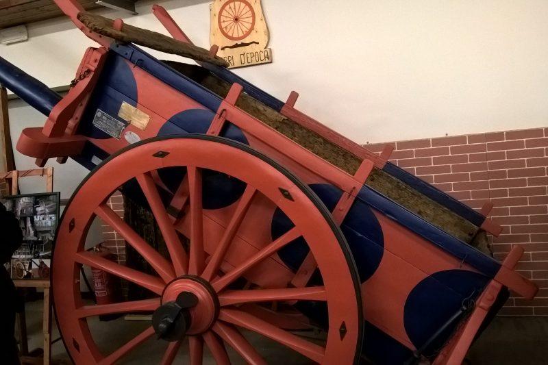 Il museo del carro antico a Paganica (AQ)