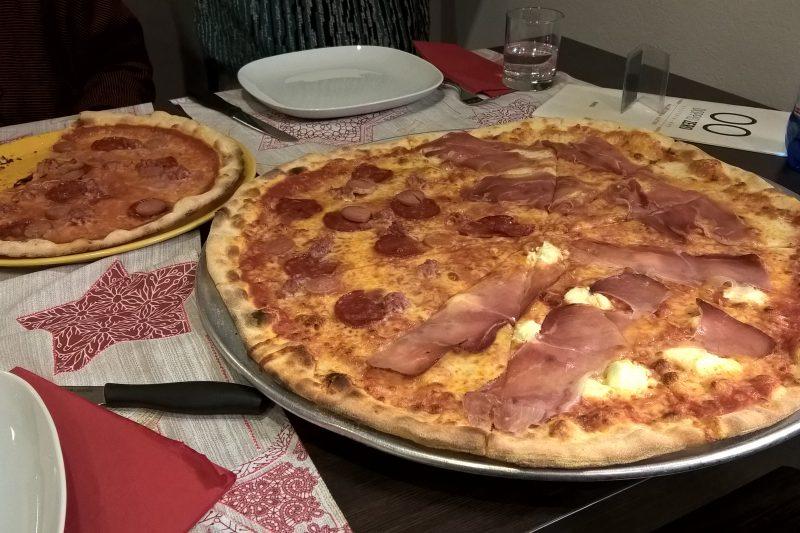 La pizzeria Doppio Zero a Fornacette (PI)