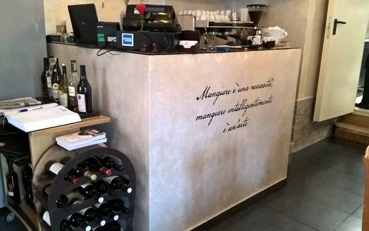 Il ristorante Mari e monti a Termoli